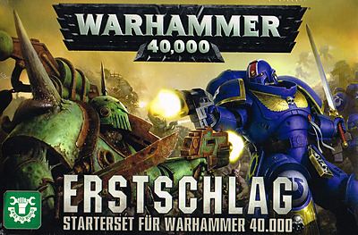 Einfach und sicher online bestellen: Warhammer 40.000: Erstschlag in Österreich kaufen.