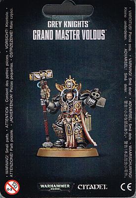 Einfach und sicher online bestellen: Warhammer 40.000: Grey Knight Grand Master Voldus in Österreich kaufen.