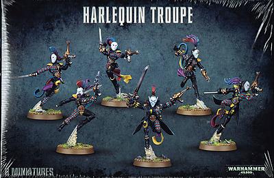 Einfach und sicher online bestellen: Warhammer 40.000: Harlequin Troupe in Österreich kaufen.