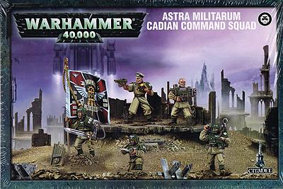 Einfach und sicher online bestellen: Warhammer 40.000: Cadianische Kommandoabteilung in Österreich kaufen.