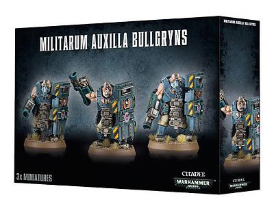 Einfach und sicher online bestellen: Warhammer 40.000: Militarum Auxilla Bullgryns in Österreich kaufen.
