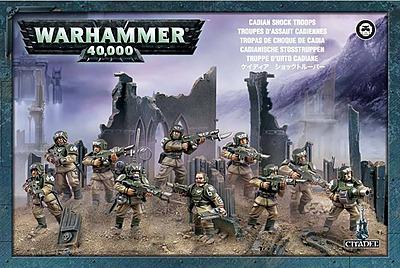 Einfach und sicher online bestellen: Warhammer 40.000: Cadianische Stosstruppen in Österreich kaufen.