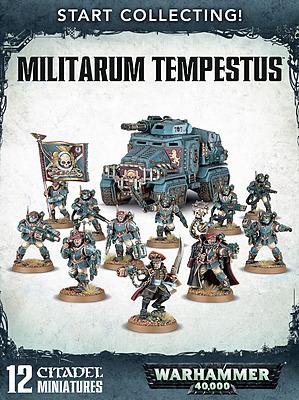 Einfach und sicher online bestellen: Warhammer 40k Start Collecting Militarum Tempestus in Österreich kaufen.