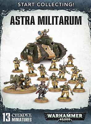 Einfach und sicher online bestellen: Warhammer 40.000: Start Collecting Astra Militarum in Österreich kaufen.