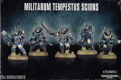 Einfach und sicher online bestellen: Warhammer 40.000: Militarum Tempestus Scions in Österreich kaufen.