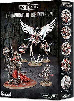 Einfach und sicher online bestellen: Warhammer 40.000: Triumvirate of the Imperium in Österreich kaufen.
