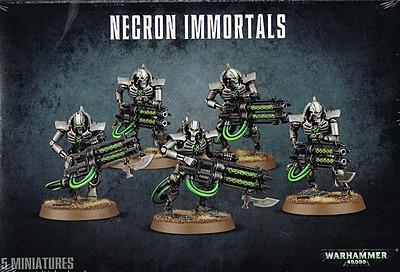 Einfach und sicher online bestellen: Warhammer 40.000: Necron Immortals (2 Packungen) in Österreich kaufen.