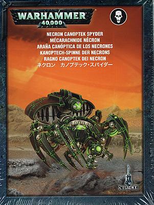 Einfach und sicher online bestellen: Warhammer 40.000: Kanoptech-Spinne der Necrons in Österreich kaufen.