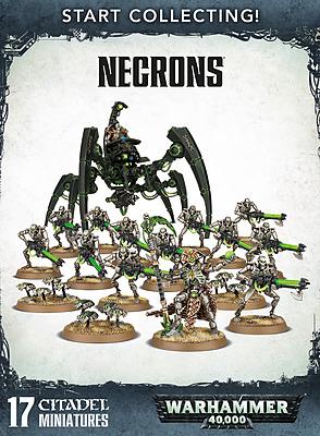 Einfach und sicher online bestellen: Warhammer 40.000: Start Collecting Necrons in Österreich kaufen.