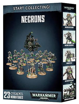 Einfach und sicher online bestellen: Start Collecting! Necrons in Österreich kaufen.