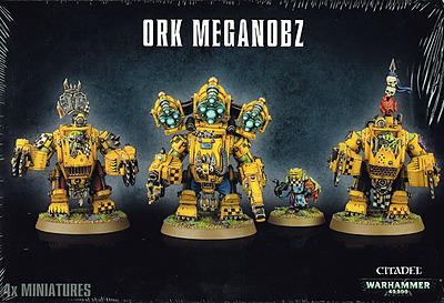 Einfach und sicher online bestellen: Warhammer 40.000: Ork Meganobz in Österreich kaufen.