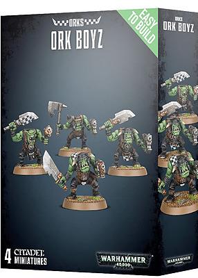 Einfach und sicher online bestellen: Easy to build: Ork Boyz in Österreich kaufen.