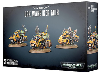 Einfach und sicher online bestellen: Ork Warbiker Mob in Österreich kaufen.
