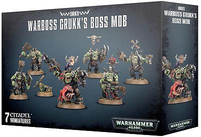 Einfach und sicher online bestellen: Orks Warboss Grukk's Boss Mob in Österreich kaufen.