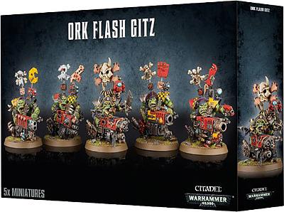 Einfach und sicher online bestellen: Warhammer 40.000: Ork Flash Gitz in Österreich kaufen.