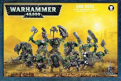 Einfach und sicher online bestellen: Warhammer 40.000: Orkboyz Trupp in Österreich kaufen.