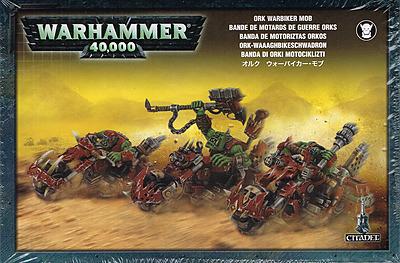 Einfach und sicher online bestellen: Warhammer 40.000: Ork Waaaghbikeschwadron in Österreich kaufen.