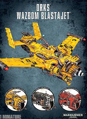 Einfach und sicher online bestellen: Warhammer 40.000: Ork Wazbom Blastajet in Österreich kaufen.