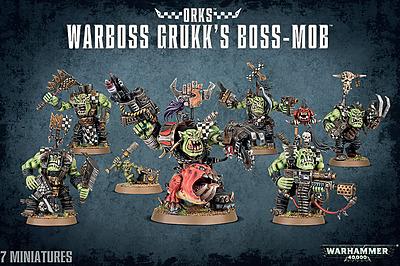 Einfach und sicher online bestellen: Warhammer 40.000: Warboss Grukk's Boss-Mob in Österreich kaufen.