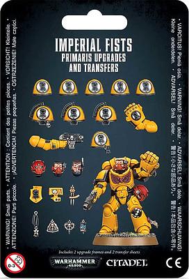 Einfach und sicher online bestellen: Imperial Fists Primaris Upgrades & Transfers in Österreich kaufen.