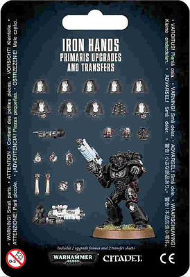Einfach und sicher online bestellen: Iron Hands Primaris Upgrades & Transfers in Österreich kaufen.