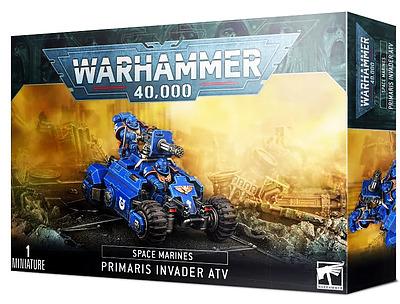 Einfach und sicher online bestellen: Invader-Quad der Primaris Space Marines in Österreich kaufen.