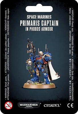 Einfach und sicher online bestellen: Primaris Captain in Phobos Armour in Österreich kaufen.