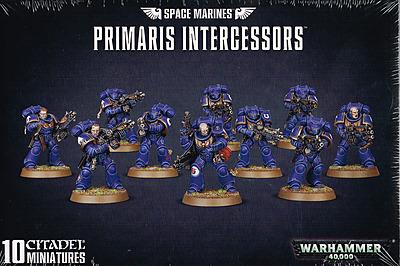 Einfach und sicher online bestellen: Warhammer 40.000: Primaris Intercessors in Österreich kaufen.