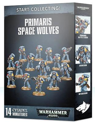 Einfach und sicher online bestellen: Start Collecting! Primaris Space Wolves in Österreich kaufen.