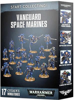 Einfach und sicher online bestellen: Start Collection! Vanguard Space Marines in Österreich kaufen.