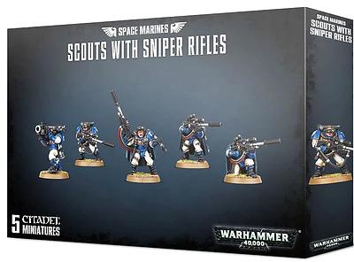 Einfach und sicher online bestellen: Scouts der Space Marines mit Scharfschützengewehr in Österreich kaufen.