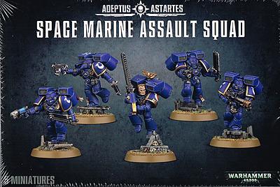 Einfach und sicher online bestellen: Warhammer 40.000: Space Marine Assault Squad in Österreich kaufen.