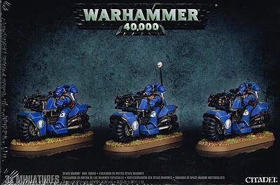 Einfach und sicher online bestellen: Warhammer 40.000: Bikeschwadron der Space Marines in Österreich kaufen.