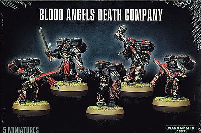 Einfach und sicher online bestellen: Warhammer 40.000: Blood Angels Death Company in Österreich kaufen.