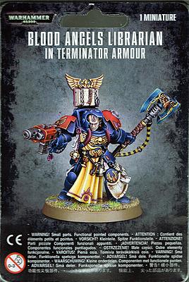 Einfach und sicher online bestellen: Warhammer 40.000: Librarian in Terminator-Rüstung in Österreich kaufen.