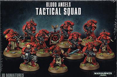 Einfach und sicher online bestellen: Warhammer 40.000: Taktischer Trupp Blood Angels in Österreich kaufen.