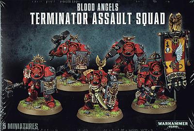 Einfach und sicher online bestellen: Warhammer 40.000: Terminator Assault Squad in Österreich kaufen.