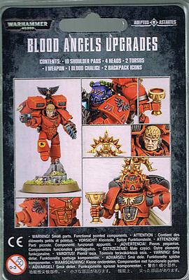 Einfach und sicher online bestellen: Warhammer 40.000: Blood Angels Upgrade Set in Österreich kaufen.