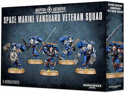 Einfach und sicher online bestellen: Warhammer 40.000: Blood Angels Vanguard Veterans in Österreich kaufen.
