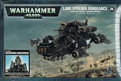 Einfach und sicher online bestellen: Warhammer 40.000: Landspeeder Vengeance/Darkshroud in Österreich kaufen.