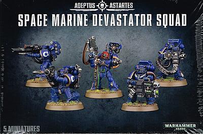 Einfach und sicher online bestellen: Warhammer 40.000: Space Marine Devastator Squad in Österreich kaufen.
