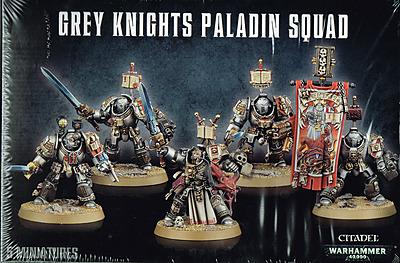 Einfach und sicher online bestellen: Warhammer 40.000: Grey Knights Paladin Squad in Österreich kaufen.