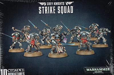 Einfach und sicher online bestellen: Warhammer 40.000: Grey Knight Strike Squad in Österreich kaufen.
