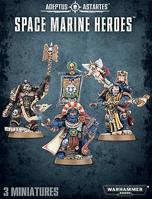 Einfach und sicher online bestellen: Warhammer 40.000: Space Marine Heroes in Österreich kaufen.