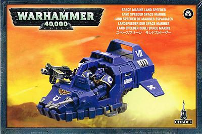 Einfach und sicher online bestellen: Warhammer 40.000: Space Marine Landspeeder in Österreich kaufen.