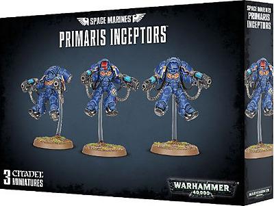 Einfach und sicher online bestellen: Warhammer 40.000: Space Marine Primaris Inceptors in Österreich kaufen.