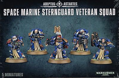 Einfach und sicher online bestellen: Warhammer 40.000: Sternguard Veteran Squad in Österreich kaufen.