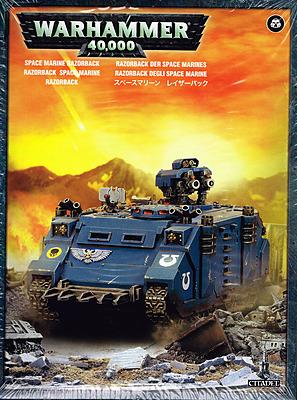 Einfach und sicher online bestellen: Warhammer 40.000: Razorback der Space Marines in Österreich kaufen.