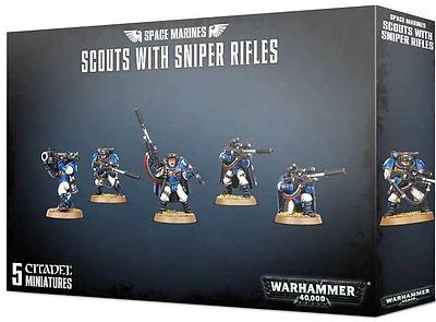 Einfach und sicher online bestellen: Warhammer 40.000: Scouts mit Scharfschützengewehr in Österreich kaufen.