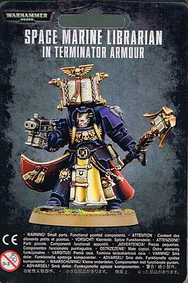 Einfach und sicher online bestellen: Warhammer 40.000: Librarian in Terminatorrüstung in Österreich kaufen.